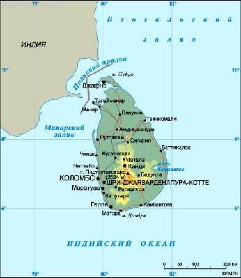У перестрілці на Шрі-Ланці вбито 14 повстанців
