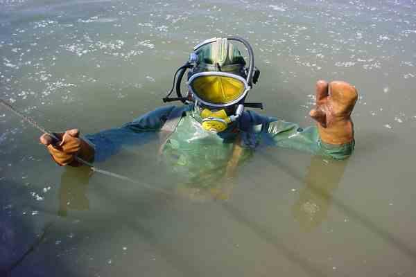 В крымском озере нашли тело погибшего водолаза