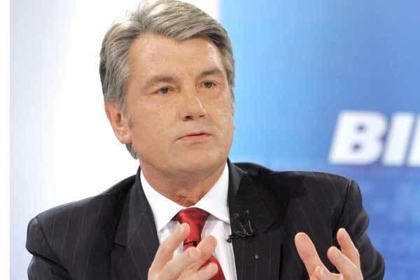 Ющенко обратится к народу по случаю Дня Победы