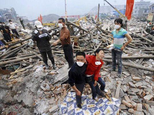 Китай впервые назвал количество жертв землетрясения