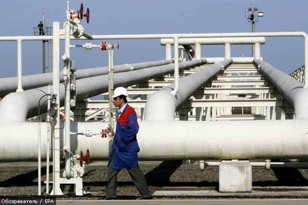 В России горит нефтепровод