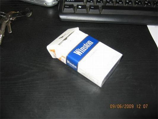 Как можно поизвращаться над пачкой от сигарет