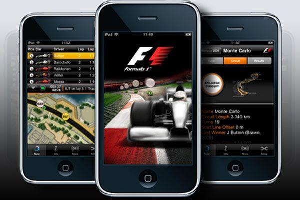 Любой мобильный телефон станет частью гонки Формулы-1 (фото)