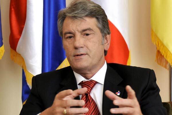 Ющенко сподівається, що Швеція наблизить Україну до ЄС