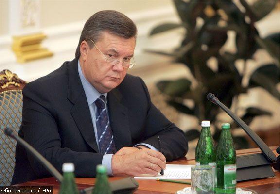 Янукович наполягає на стратегічне партнерство з Росією
