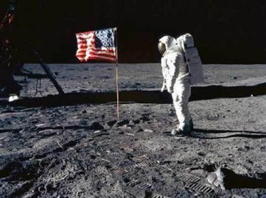 Как американцы высаживались на Луну. ВИДЕО