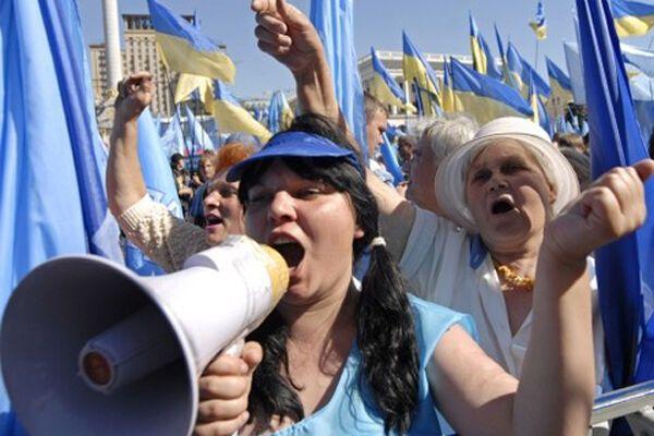 Регіонали готуються до масових акцій протесту