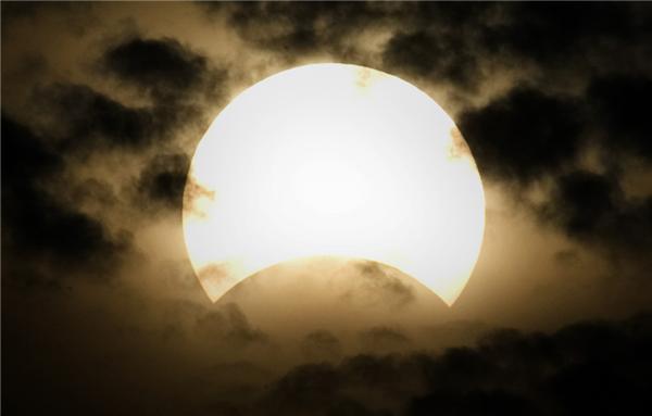 Сонячне затемнення 22 липня 2009. ФОТО