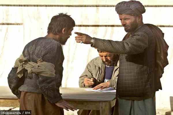 Талибы впервые взяли в плен американского солдата