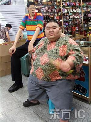 Самый толстый и самый тонкий