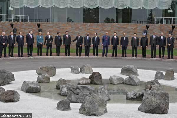 Італію хочуть виключити з G8