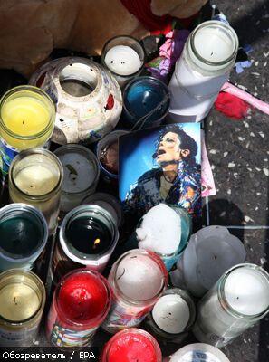 Сьогодні світ проводжає Майкла Джексона в останню путь