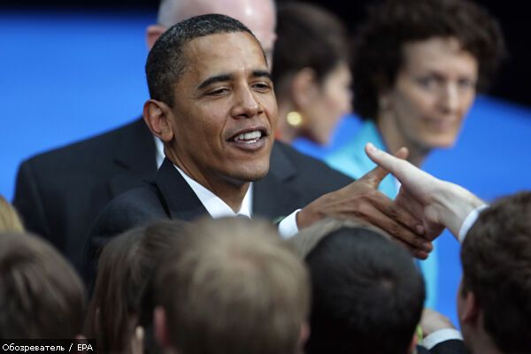 Обама в Москві: день другий