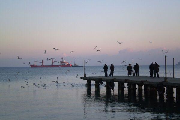 """Вонючее"" судно причалило в Одессе"