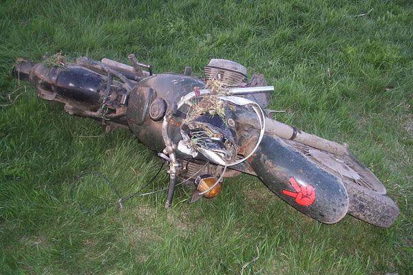 На Полтавщине 2 школьника разбились на мотоцикле
