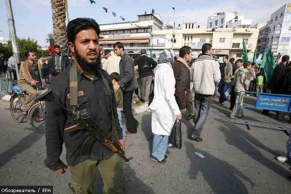 В результате перестрелки в Газе ранены 15 палестинцев