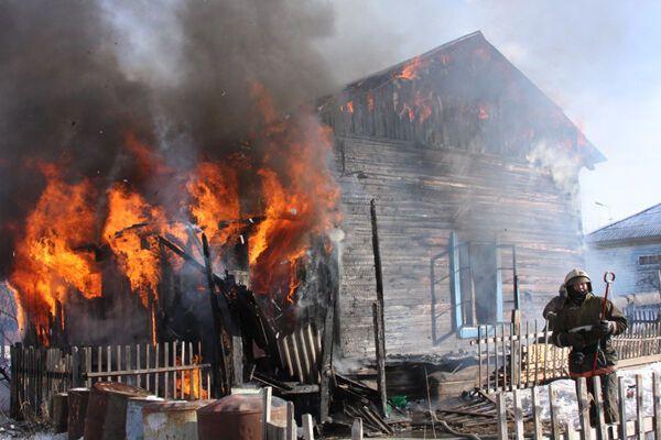 На Ривненщине сгорела сельская школа