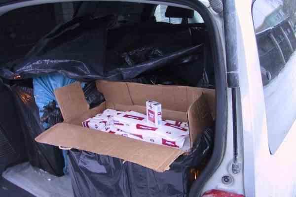 В поезде Киев-Варшава арестован вагон контрабандных сигарет