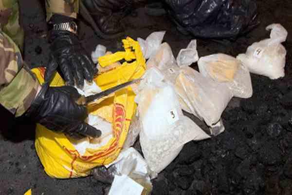 Полиция конфисковала 12 миллионов доз кокаина