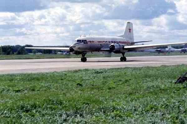 В московском авиамузее загорелся самолет