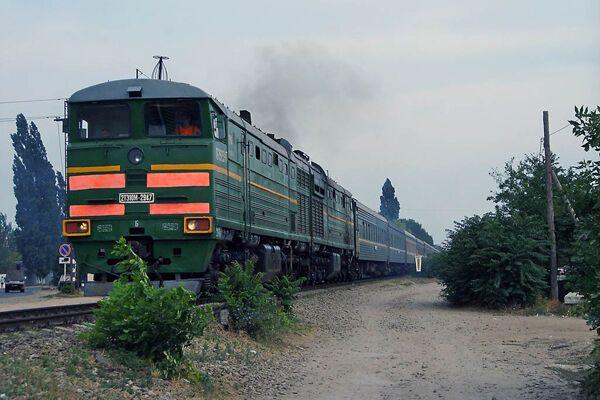 На Днепропетровщине столкнулись поезд и локомотив