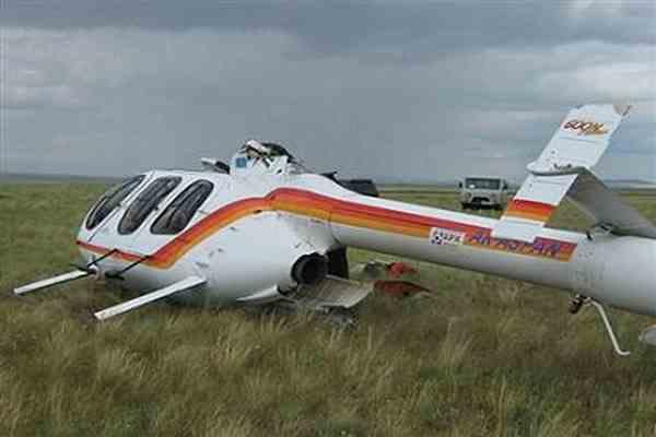 Вертолет столкнулся с самолетом, четверо погибших