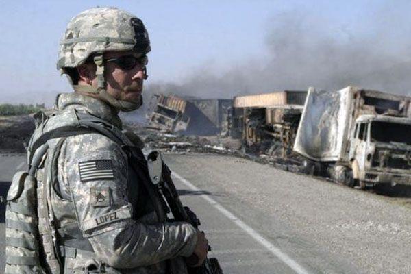 Американские солдаты не могут справиться с талибами