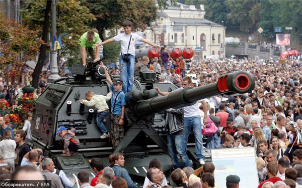 Медведев проигнорировал независимость Украины