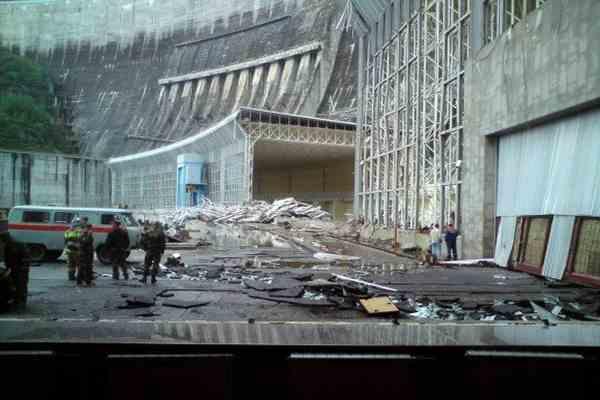 На Саяно-Шушенской ГЭС не сработала защитная автоматика