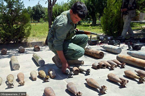 Мужчина продавал боеприпасы на центральном рынке