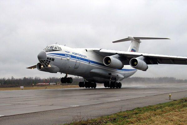 Самолет Владимира Путина врезался в столб