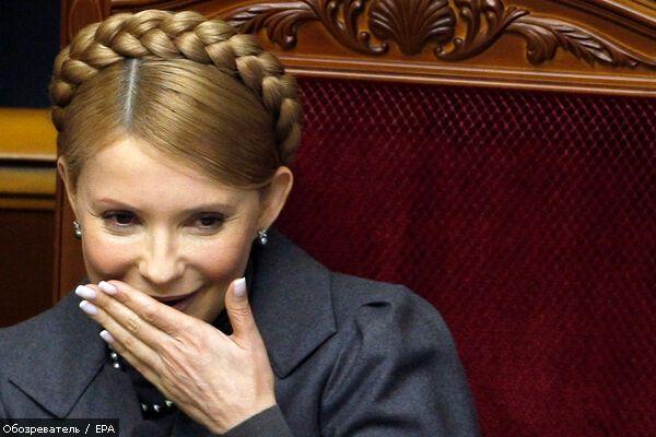 "Шахтеры подарили Тимошенко ""звездЮлю"""