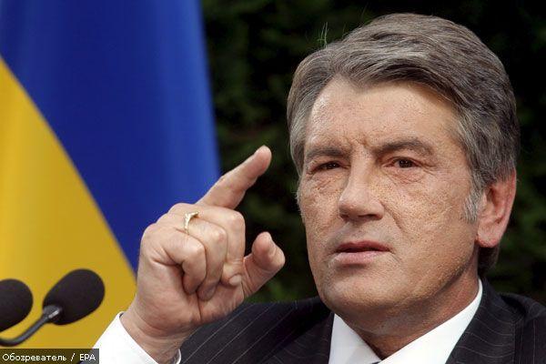 Ющенко назвал деятельность Лукашенко ярким примером