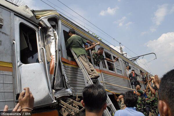 Cтолкнулись два поезда: есть погибшие