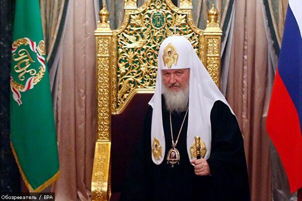Патриарх Кирилл уверен, что принес украинцам радость