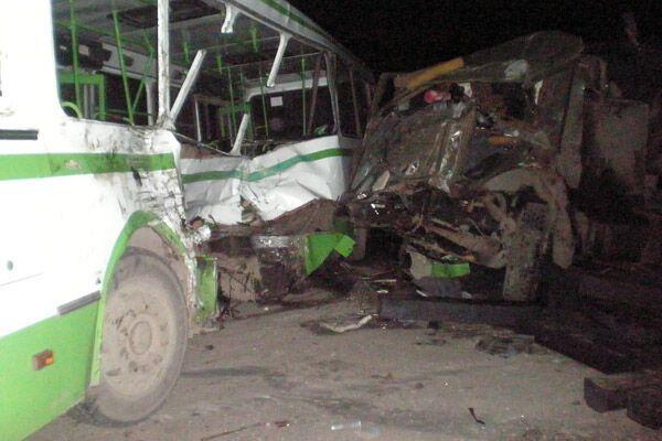 Столкнулись два автобуса, есть жертвы