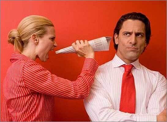 Как вести себя, когда муж сердится