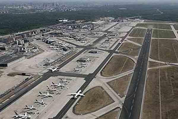 Посылка с бомбой взорвалась в аэропорту Франкфурта