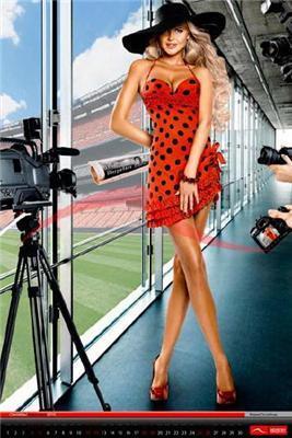 Жены футболистов сборной снялись для эротического календаря (фото)