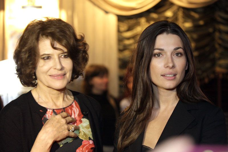 Актриса Фанни Ардан откушала киевских вкусностей
