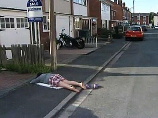 Google Street View заснял шокирующие ФОТО