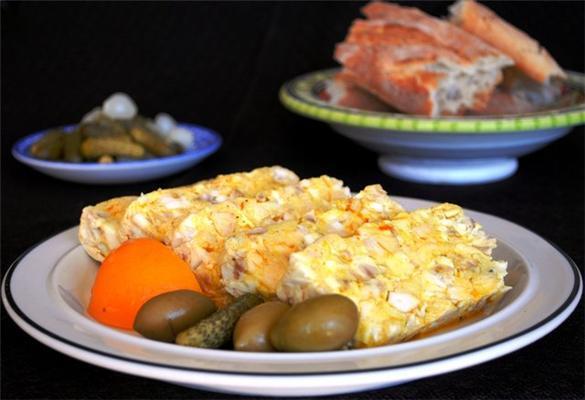 Рецепт на обід. Магрибську запіканка з мізками! ФОТО
