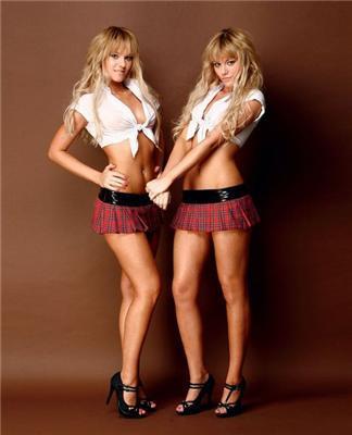 П'ятничні близнючки-каратистки. І хочеться і колеться. ФОТО