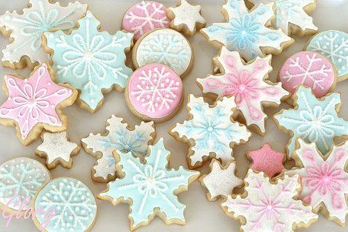 Яркие и праздничные печеньки