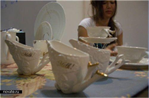 Эротический чайный сервиз