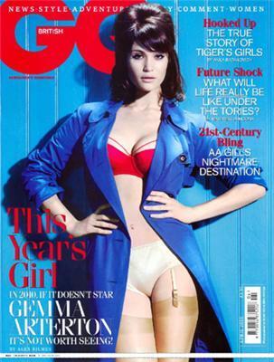 Панчішки і корсети від британської актриси в GQ