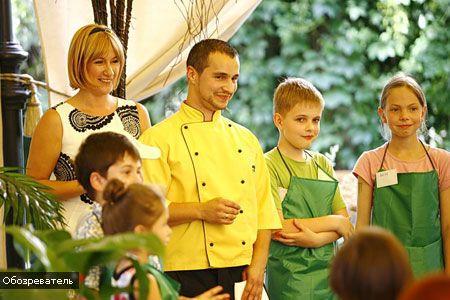 """""""Звездные"""" дети учатся готовить"""