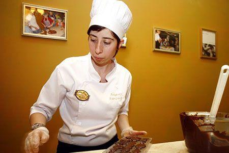 """День шоколада в бутике """"Основной инстинкт"""""""