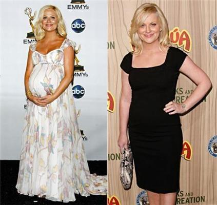 Голлівудські знаменитості до і після пологів. ФОТО