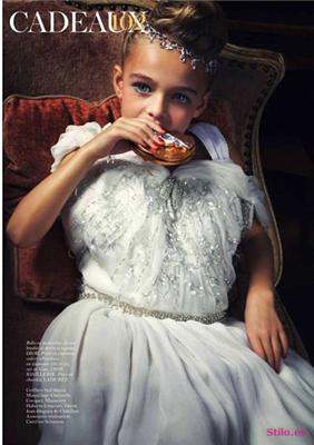 Vogue шокировал малолетними моделями. ФОТО